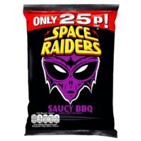 Space raiders BBQ 36 x 25p PMP